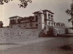 Maharaja's Palace at Sewar, 3 miles from Bharatpur